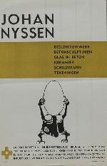 Affiche Retrospectieve Slabbinck 1964